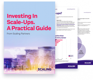 Investing In Scaleups. A Practical Guide